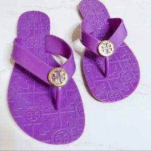 TORY BURCH Thora Jelly Thong Sandal Flip Flops